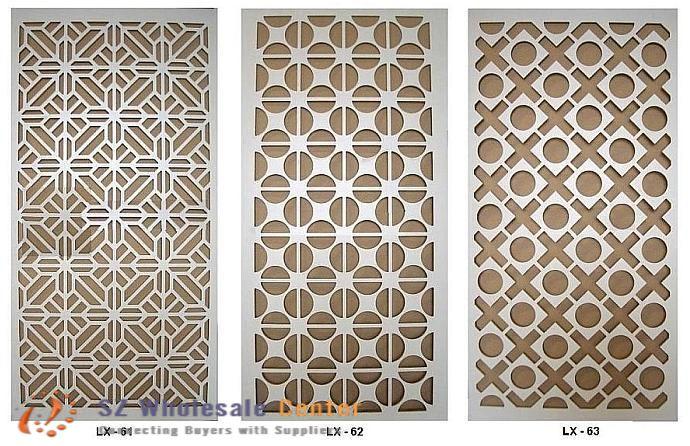 Decorative Metal Panels : Decorative metal grille panels
