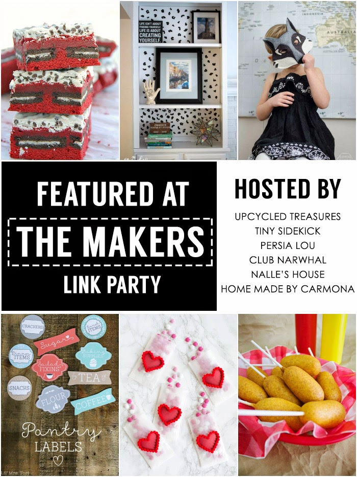 The Makers Featured Posts #themakerslinkparty
