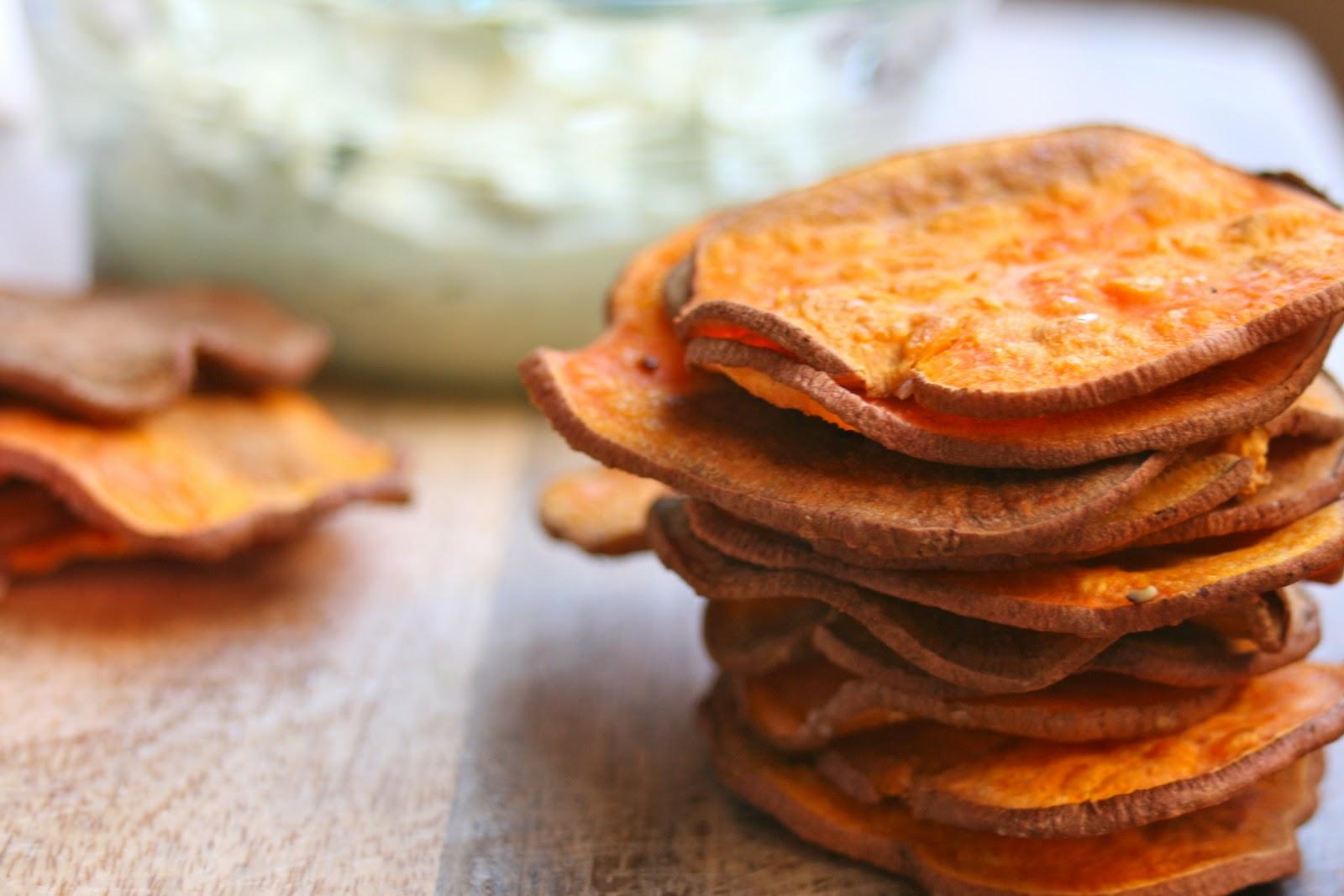CupcakesOMG!: Sweet Potato Chips