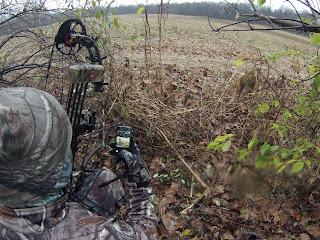 Xshot GoPro Pole while hunting