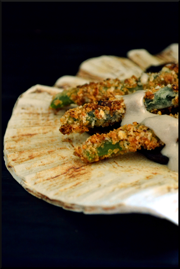 ... Ardent Epicure: What's on the side? Deconstructed Green Bean Casserole