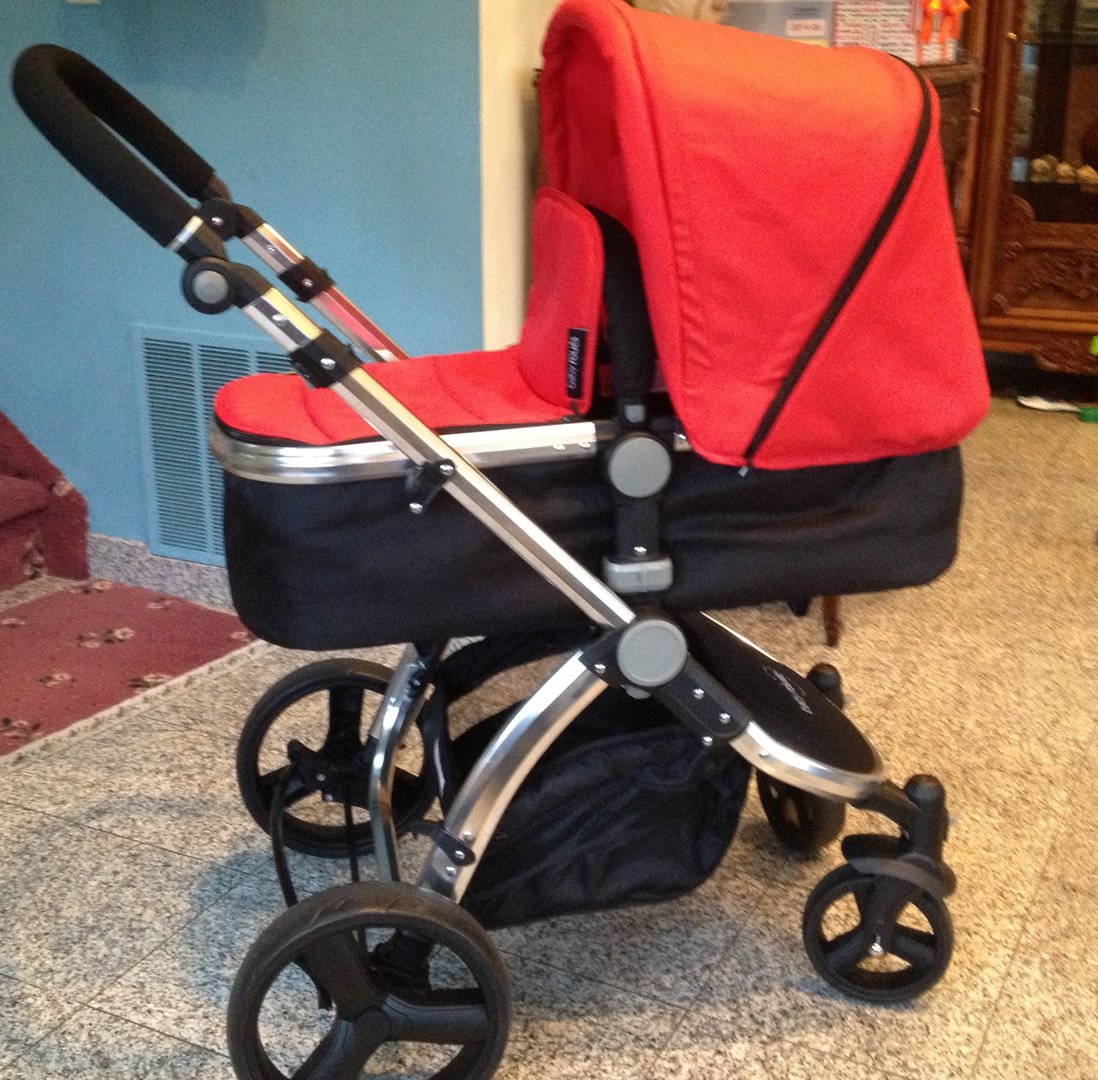 Baby Roues LeTour- Bassinet/Canvas - Best Baby Strollers - Baby Stroller Reviews