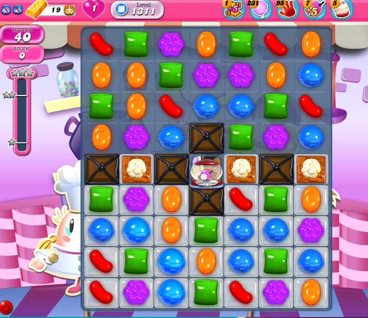Candy Crush Saga 1311