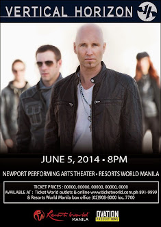 Vertical Horizon Live in Manila