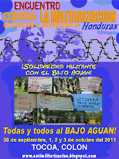 Encuentro contra la Militarizacin, Ocupacin y Represin en Honduras, sept/oct 2011