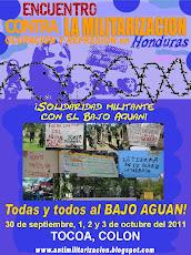 Encuentro contra la Militarización, Ocupación y Represión en Honduras, sept/oct 2011