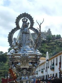 Cetro de Hermano Mayor de Romería, obra de Manuel Valera.