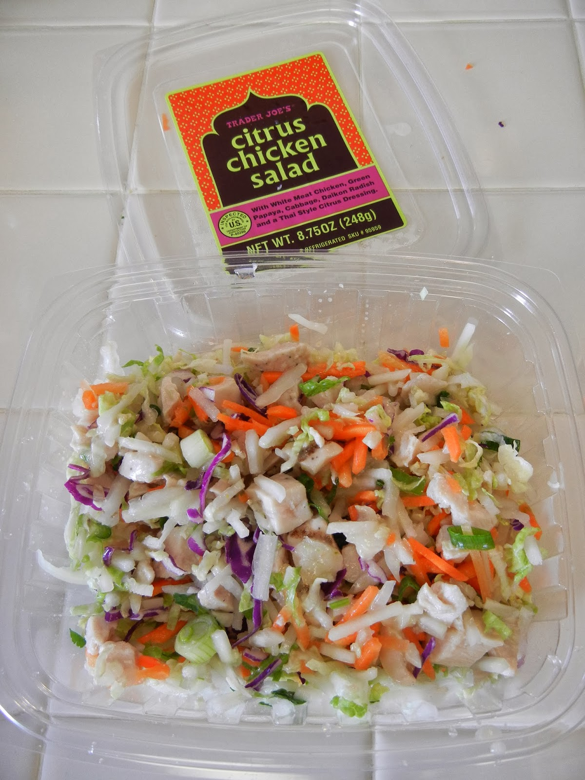 Trader+Joes+Citrus+Chicken+Salad+2 Weight Loss Recipes A day in my pouch