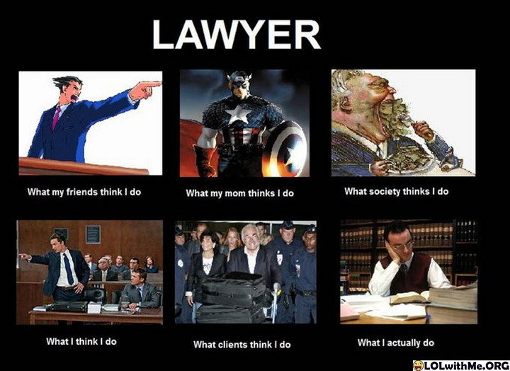 about being a lawyer