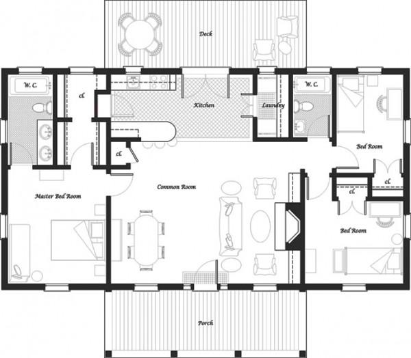 Planos de casas modelos y dise os de casas casas de for Planos de casas de campo gratis
