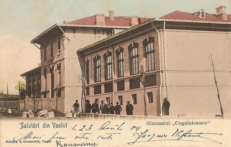 Scoala si liceul Kogalniceanu din Vaslui