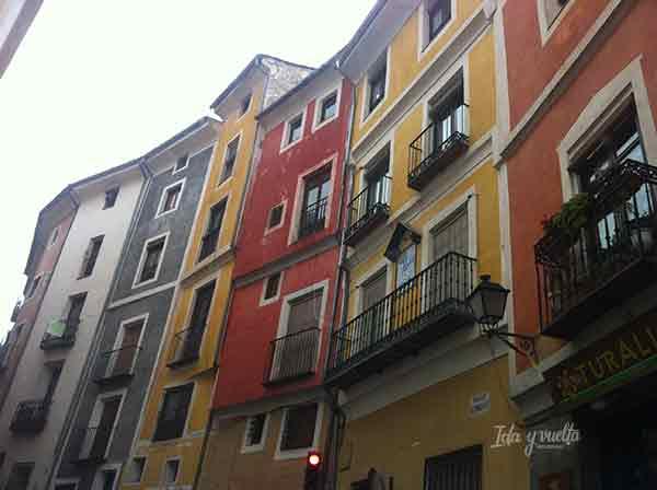 Calle del casco histórico de Cuenca