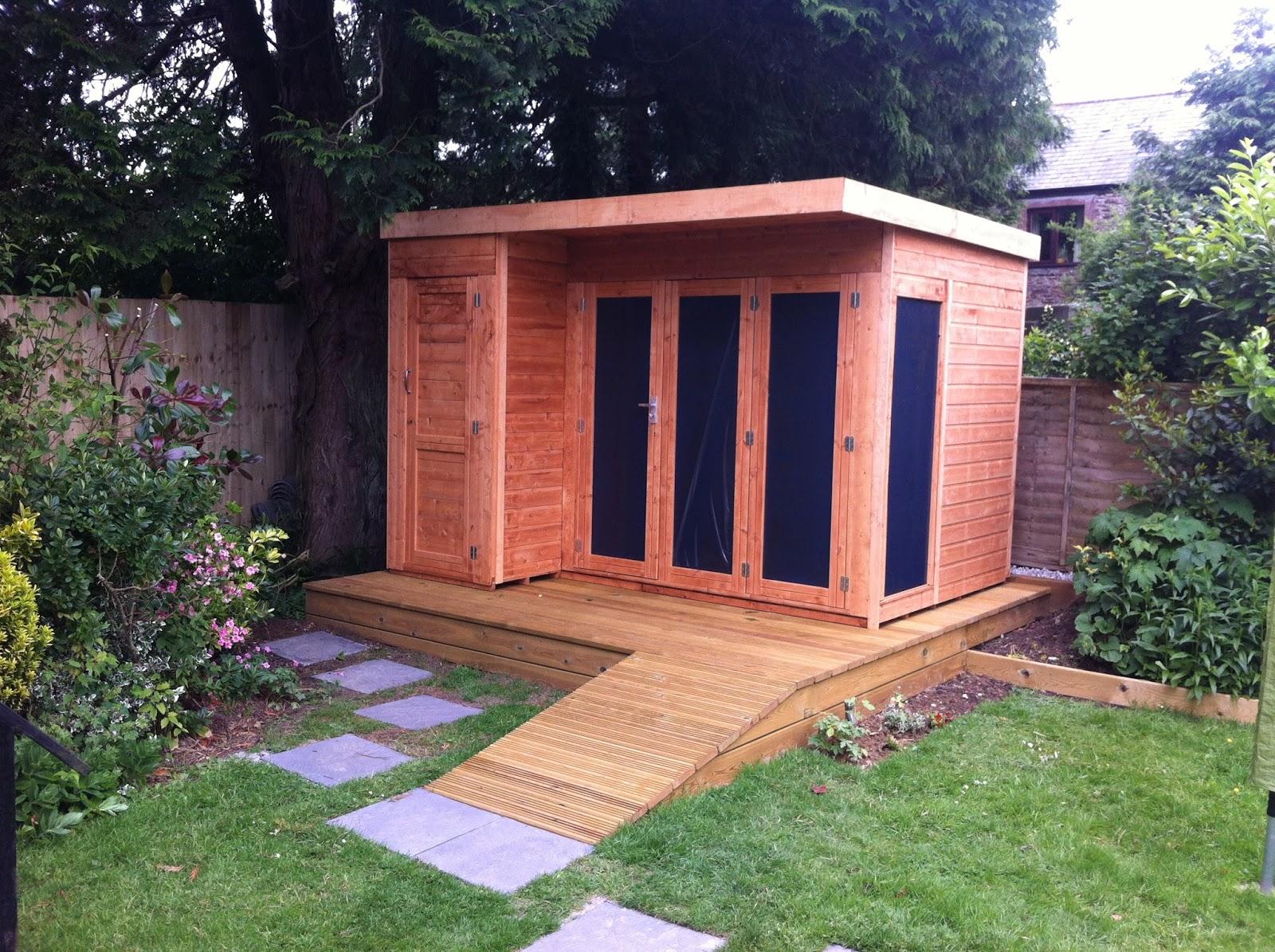Sheds Garden Sheds Wooden Sheds Metal Sheds Garden - Modern garden summer house