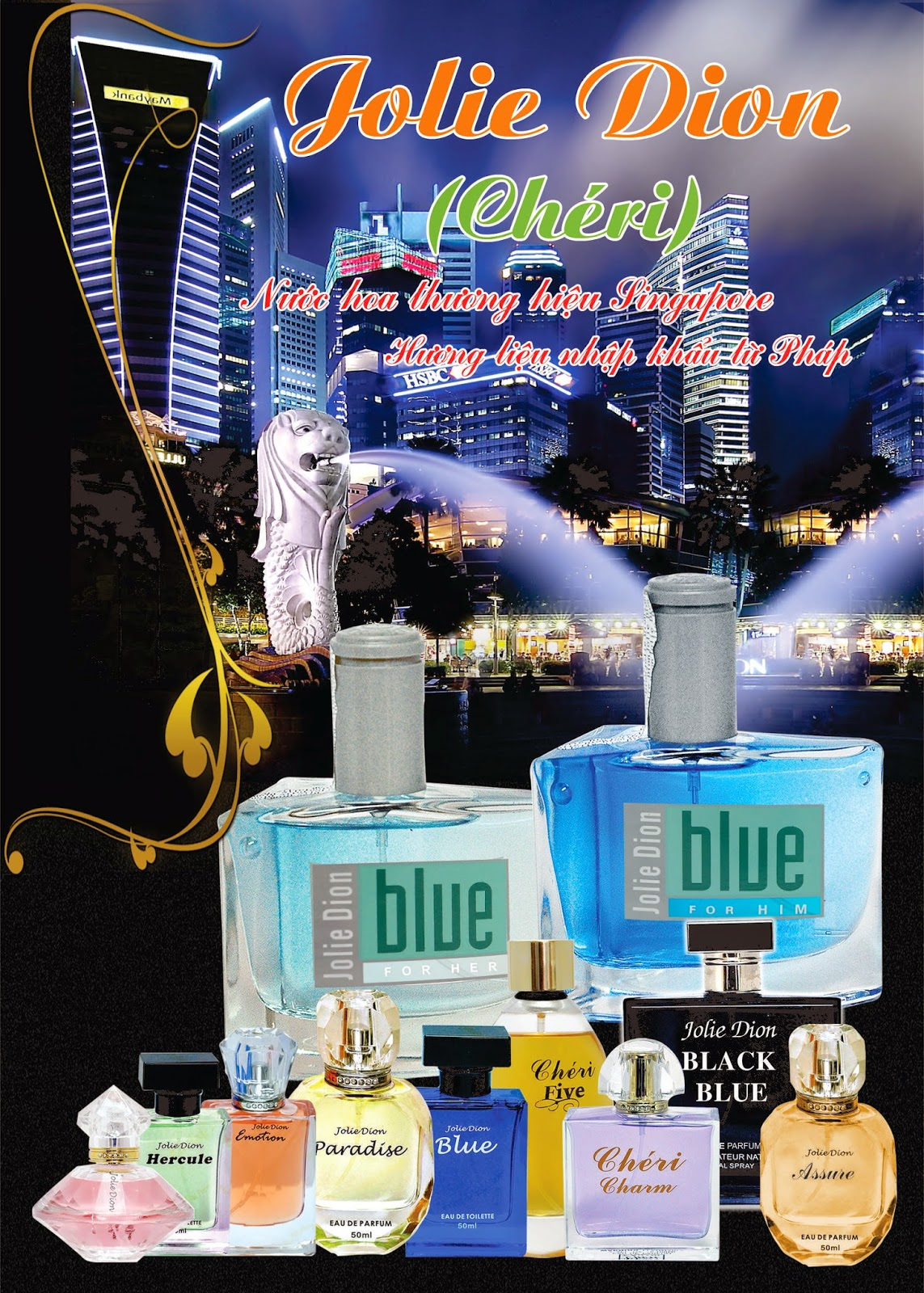 Jolie Dion Blue For Women
