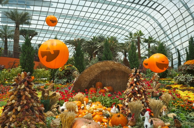 halloween in the gardens by the bay in singapore - Garden By The Bay Food