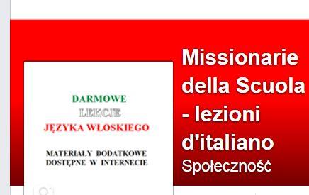 Materiały do nauki włoskiego online