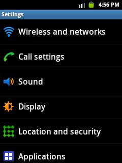 Samsung Galaxy Y GT-S5360 GPRS MMS 3G Settings
