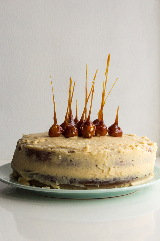 Salted Caramel Mud Cake | Svelte Salivations
