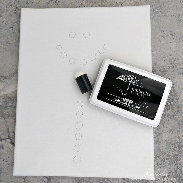 Ink pad and sponge daubers