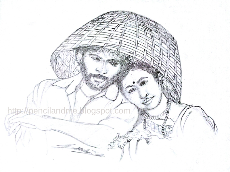 Kumki special pencil drawings part 1 sathishs gallery pencil sketches techniques and more