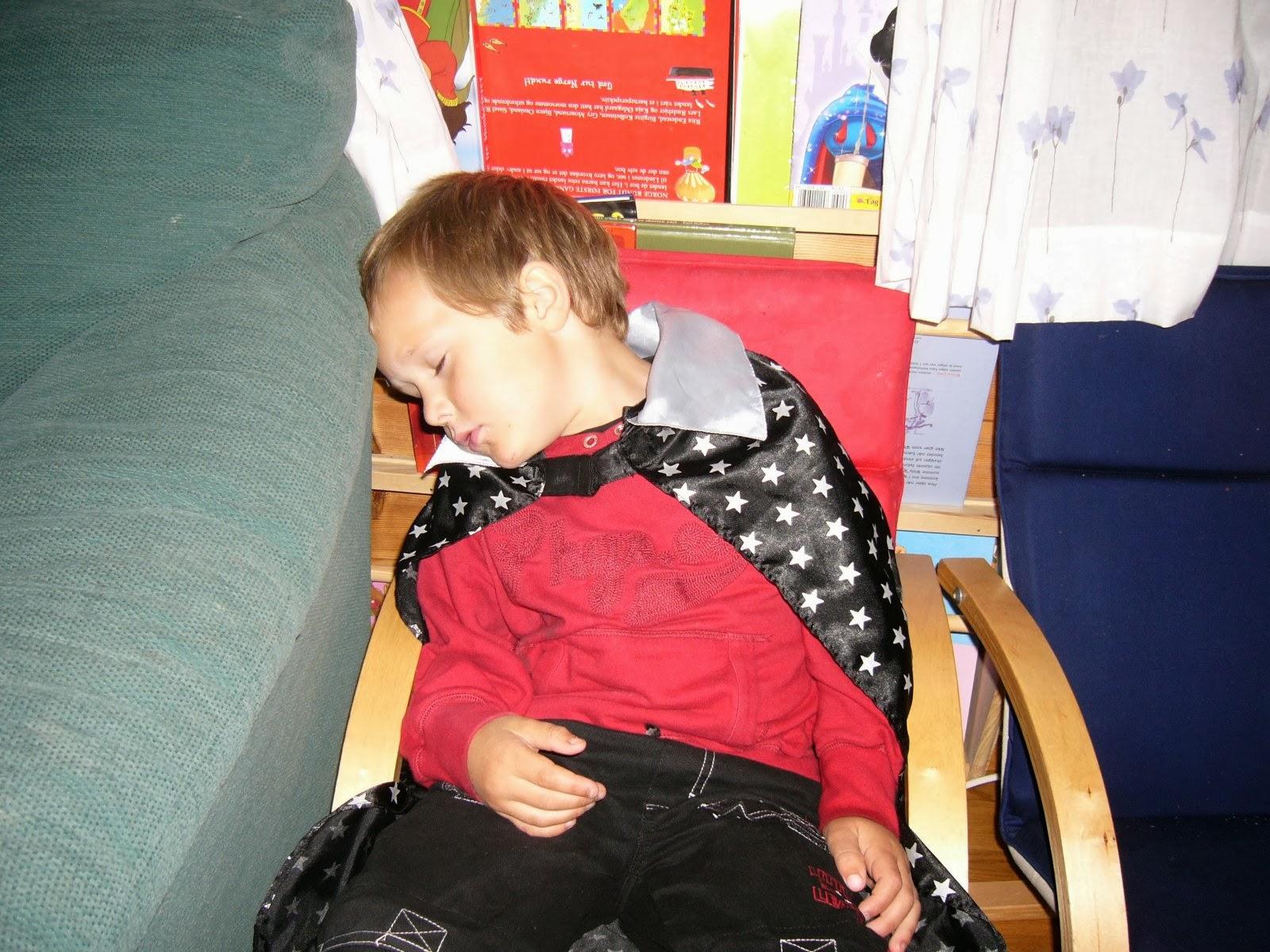 ring ikke på sovende barn