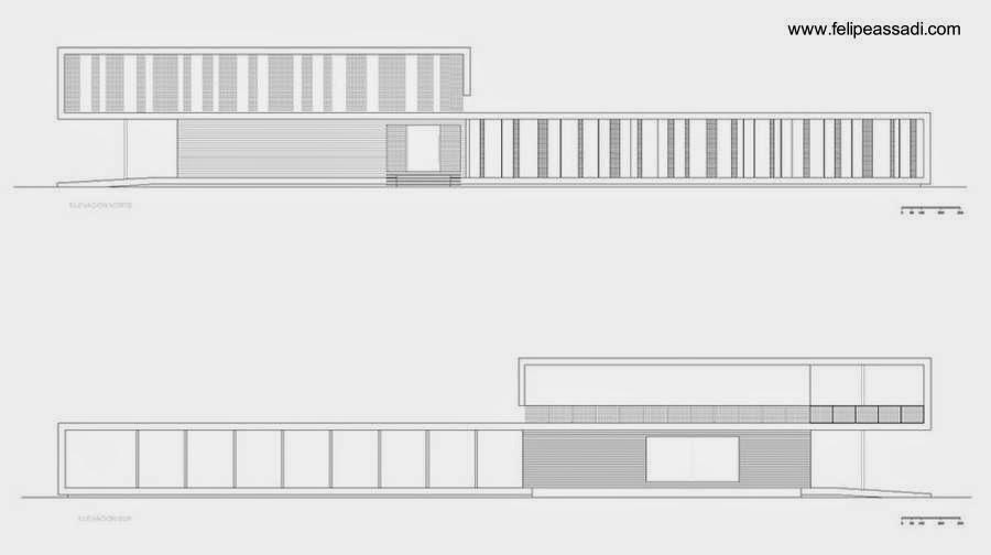 Plano arquitectónico de la casa