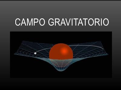 imagen del campo gravitario de un planeta