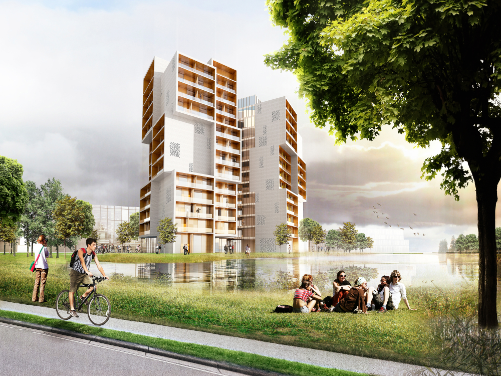 New Student Housing Building Has Been Designed By Oslo Norway Based