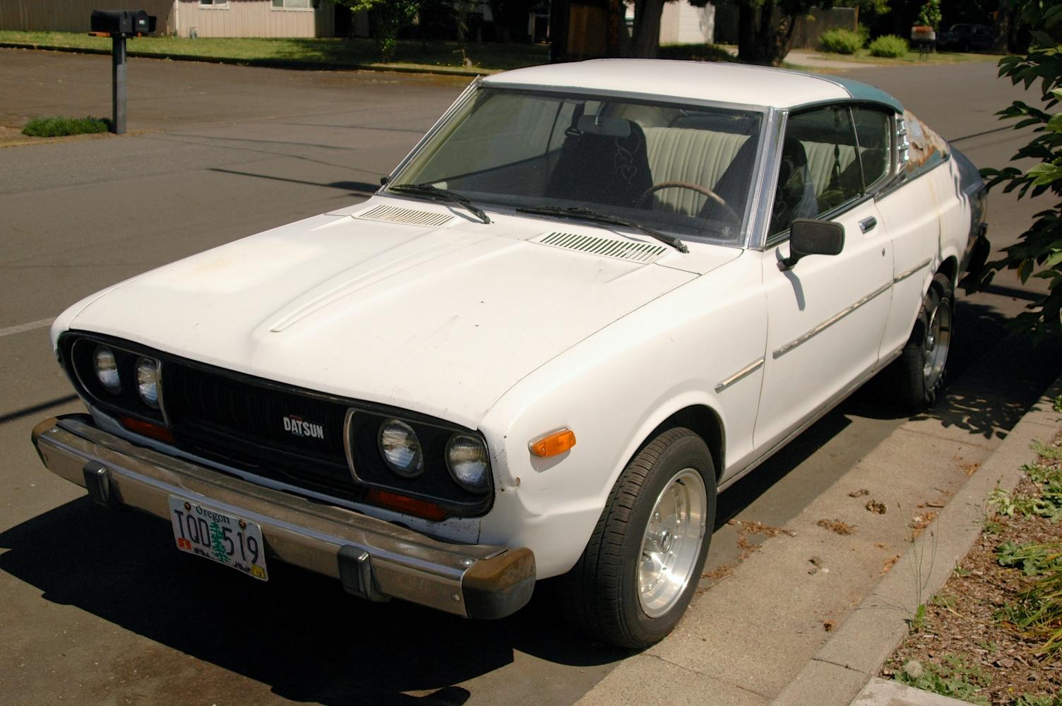 1975 Datsun 710 Hardtop Coupe.
