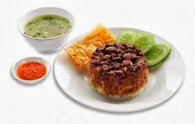 resep makanan nasi tim ayam kacang merah resep masakan