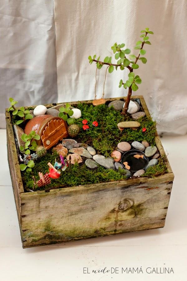 40 ideas de reciclaje y manualidades para el jard n plantas for Ideas faciles para decorar jardines