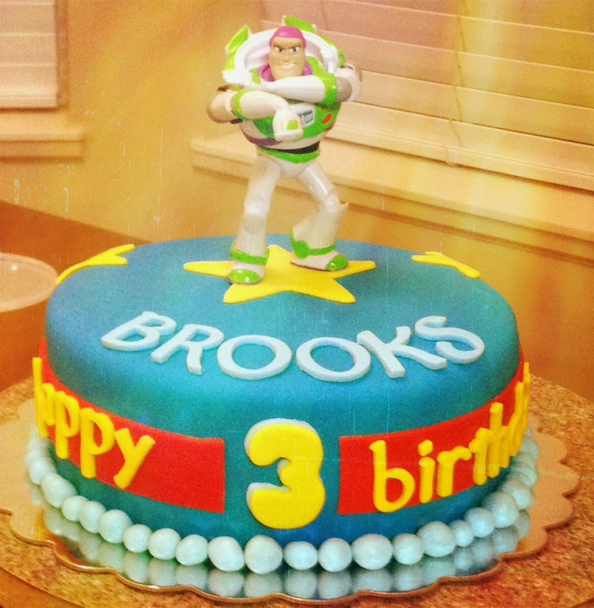 A Buzz Lightyear Birthday For Cakes Sake