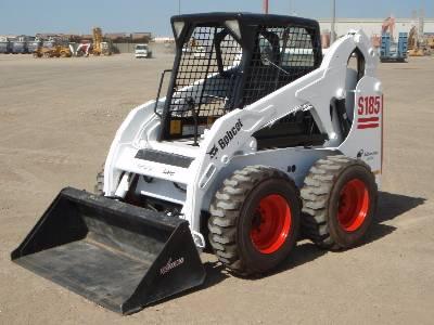 Aspal Bobcat S185 Skid Steer Loader