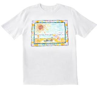 T shirt change de couleur