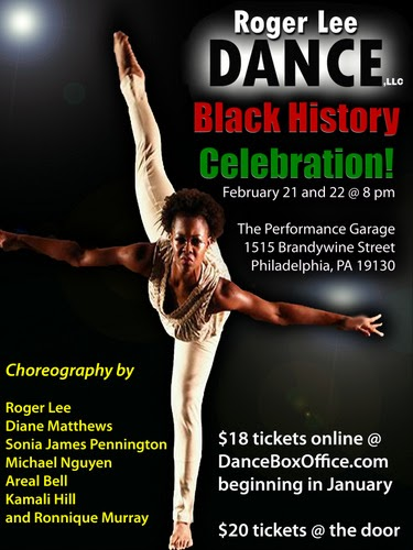 Roger Lee Dance Company Black History Celebration Concerts