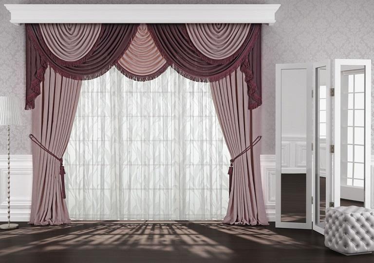 pudra fon perde modeli yeni elif perde. Black Bedroom Furniture Sets. Home Design Ideas
