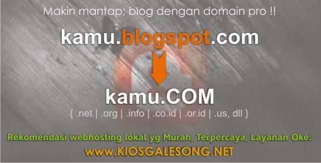 merubah blogspot menjadi com