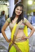Aswi Glamorous Photos in Half Saree-thumbnail-7