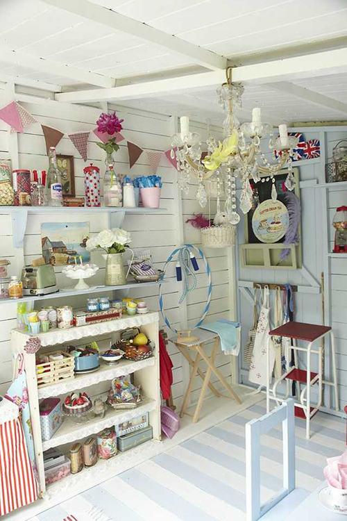 Shabby Chic Sewing Room Ideas