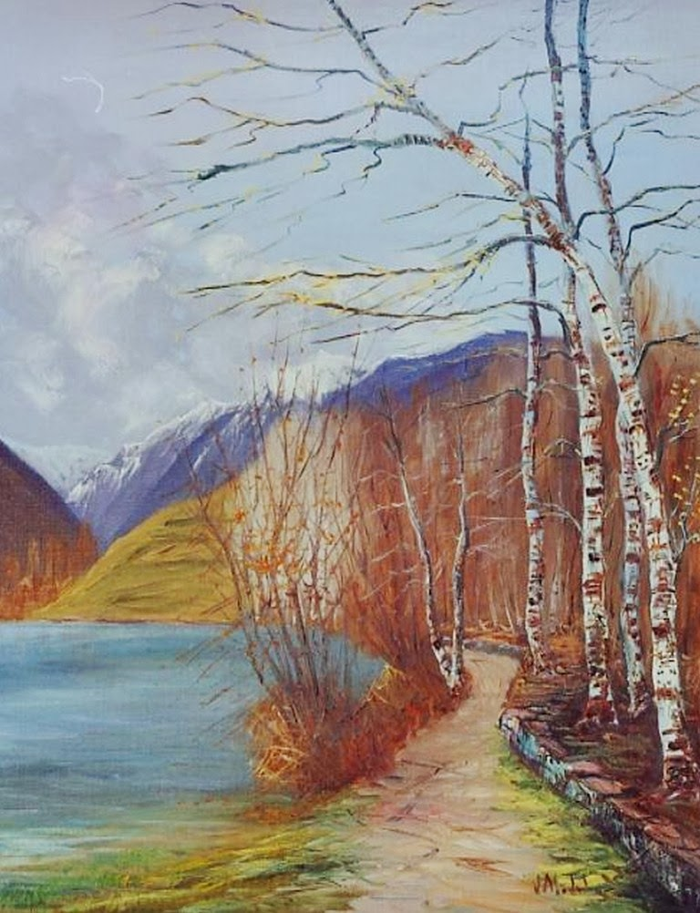 Im genes arte pinturas pinturas al leo de paisajes - Oleos decorativos ...