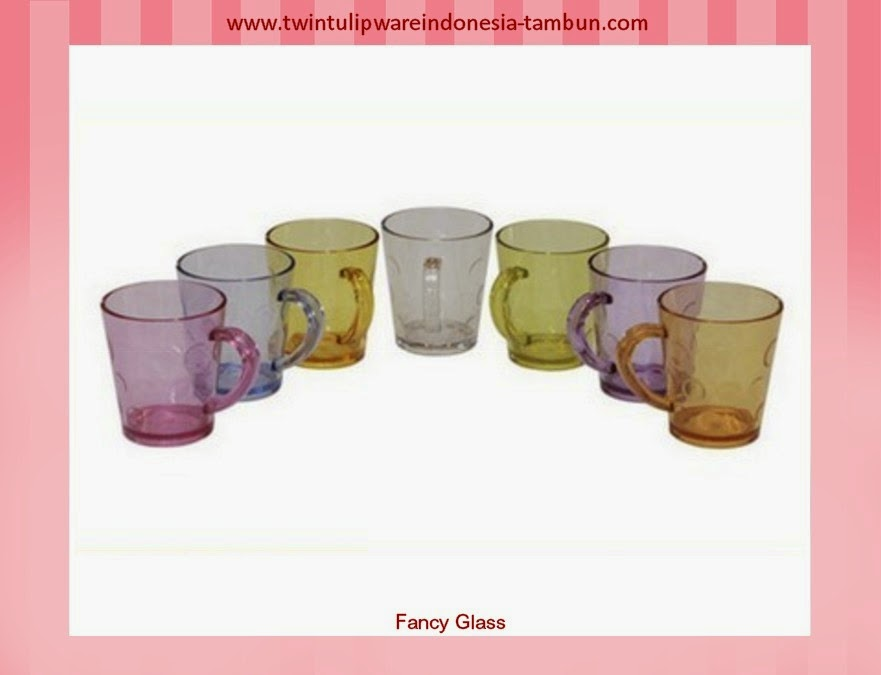 fancy glass | produk baru tulipware 2013