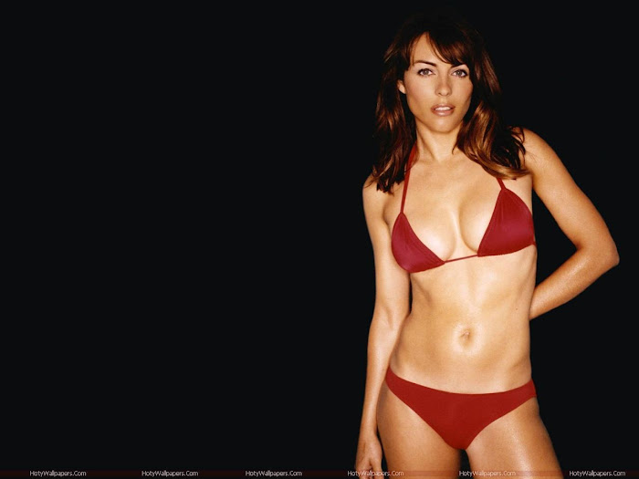 Elizabeth Hurley HD Wallpaper -06