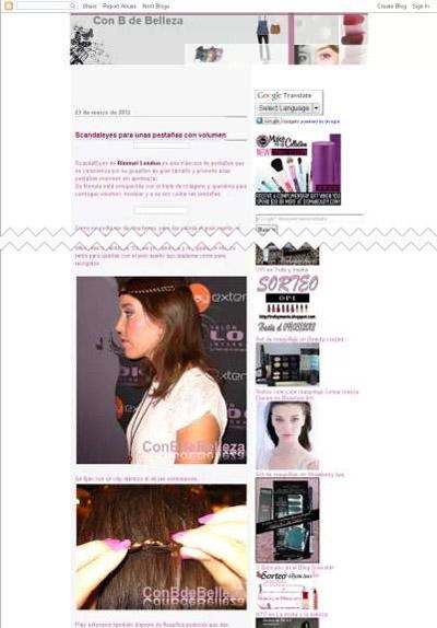 Blog belleza