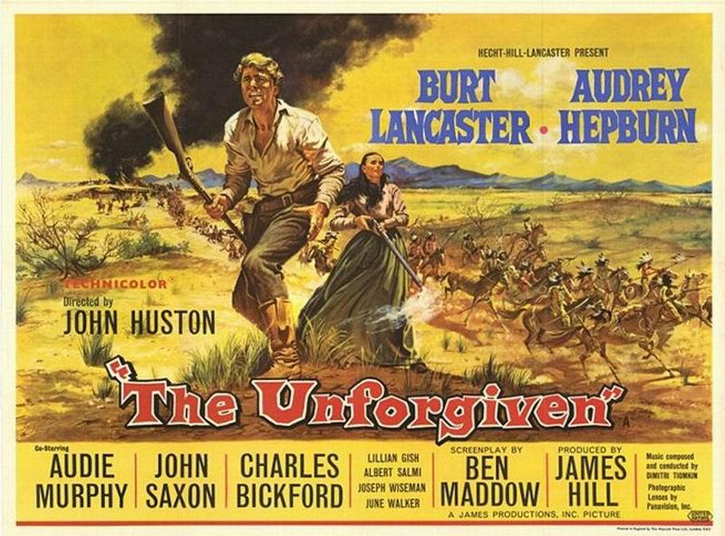 Image result for unforgiven 1960 movie poster