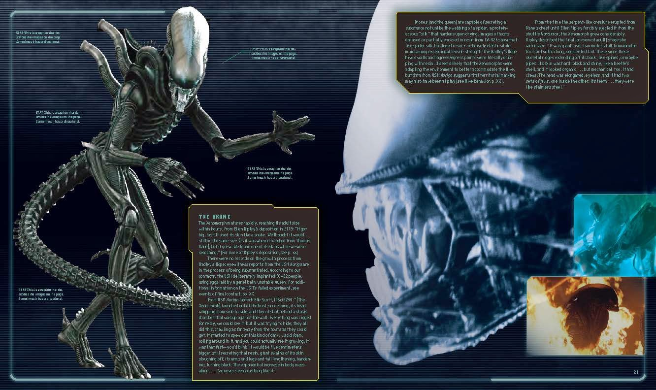 information and updates for alien  the weyland