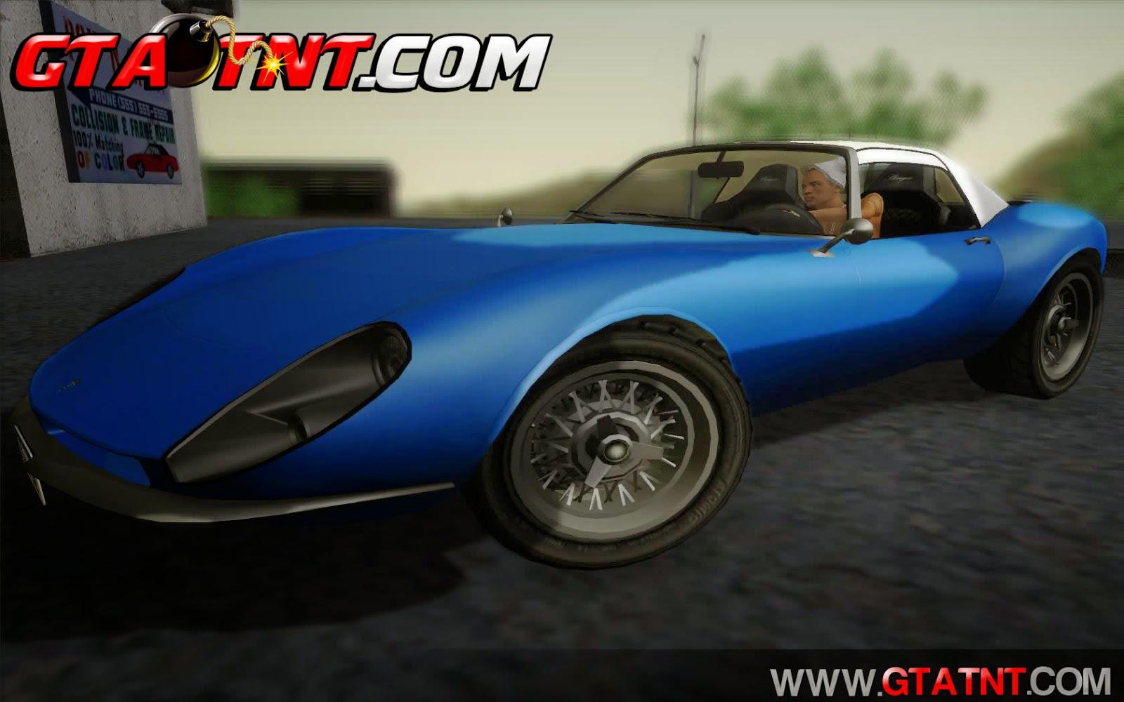 Grotti Stinger Convertido do GTA V para GTA San Andreas