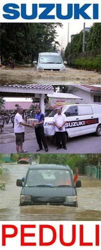 bantuan suzuki bencana banjir