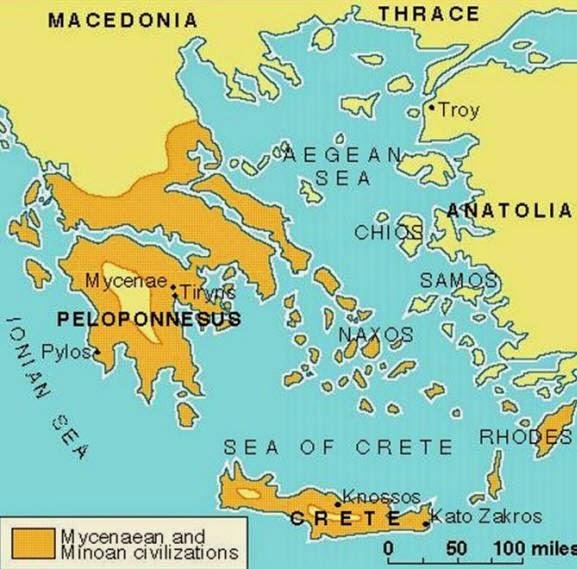 Greek Civilization Map Plan Your Escape®...