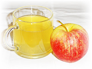 The Apple Cider Vinegar adjusts pH in the body to balance and detoxification.