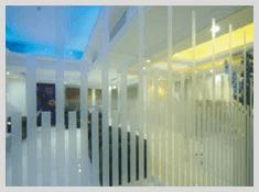 kaca film gedung interior dekorasi